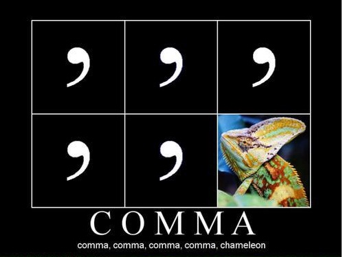 Karma.. it's not your average every day punctuation mark